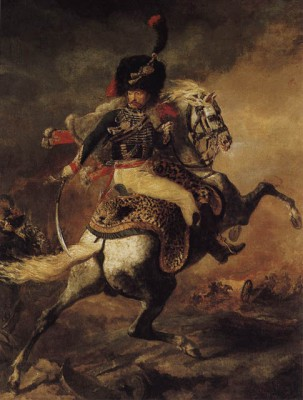 Officer of the Hussars by Theodore Gericault 1814