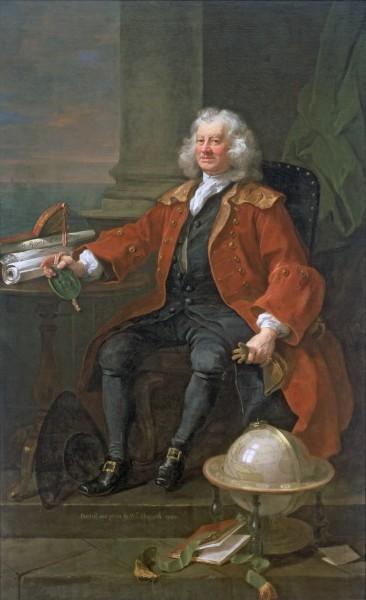 Portrait of Captain Coram (c.1668-1751) 1740, Hogarth, William (1697-1764) / © Coram in the care of the Foundling Museum, London / Bridgeman Images