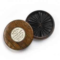 Hat Cockade Worn by Sir Philip Broke in the action with the Chesapeake June 1st 1813